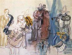 raoul dufy musiciens - Recherche Google