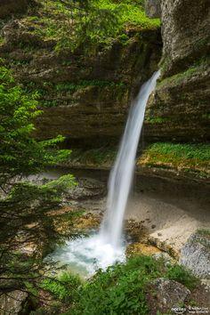 """hidden waterfall - Pericnik waterfall at Triglav NP in Slovenia. Follow me on <a href=""""http://www.facebook.com/norlies1"""">facebook</a>"""