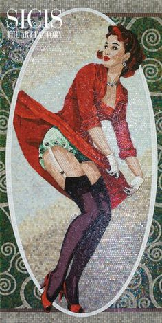 SICIS Pinup Mosaic Collection