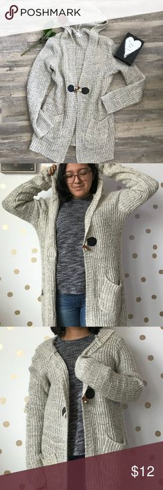 Charming Charlie Fuzzy Cardigan Charming Charlie Fuzzy Cardigan  Keep warm for days with this Cardigan!  In good pre-loved condition  Size is a medium, somewhat of a oversize fit Hits me at my knees  Also has pockets and a button clasp Charming Charlie Sweaters Cardigans