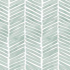 Watercolor Herringbone Aqua Removable Peel 'n Stick or image 2 Et Wallpaper, Prepasted Wallpaper, Custom Wallpaper, Apple Watch Wallpaper, Cute Patterns Wallpaper, Wallpaper Ideas, Notes Design, Traditional Wallpaper, Simple Backgrounds