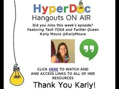 Teaching, Tech and Twitter: Better Together! Creating Collaborative HyperDocs