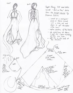 What do you call the sketch for clothes or sketch design?