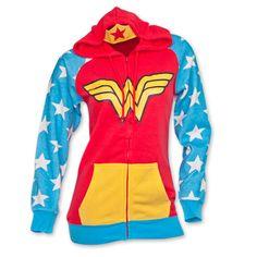 Wonder Woman Women\'s Costume Hoodie
