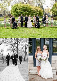 #wedding #party #bride #groom (Images by Manifesto Photography)