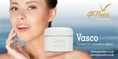Vasco gives the skin a beautiful even tone and provides comfort and softness. Accelerates the results of rejuvenation of dull, lifeless and ageing skins. #gernetic #gerneticuk #skincare #beautysalon #beautytreatment #antiageing #sensitiveskin #antiageing #bestproduct #explore Face Products, Ageing, Beauty Care, Sensitive Skin, Anti Aging, Skincare, Explore, Cream, Beautiful