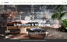 [video] Dann Event Hire - Website User Experience and Interface Design Melbourne | Studio Alto