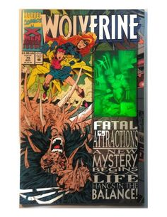 New Mutants #75 FN 1989 Stock Image
