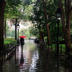 luuinnewyork:  Rainy days in New York