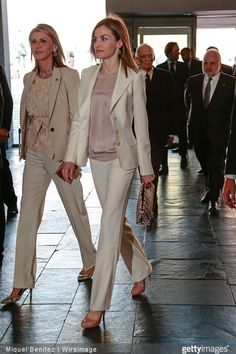 Queen Letizia attends the 2nd Congress of Rare Childhood Diseases