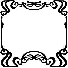 Резултат с изображение за art nouveau ornaments vector
