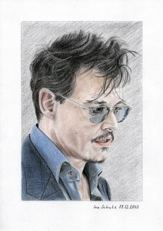 Johnny Depp - London 2013 - 3 by shaman-art
