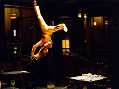 I want to be like Zoe Bell, stunt woman.  So cool.