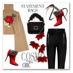 """""""Carry On: Statement Bags"""" by andrejae ❤ liked on Polyvore featuring William Fan, Burberry, polyvoreeditorial, polyvorecontest and statementbags"""