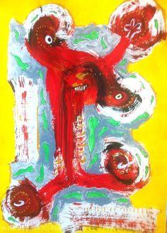 Artwork >> Phil De Giens >> Against alien tadpoles