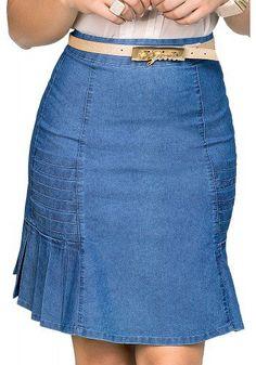Denim Skirt Outfits, Denim Outfit, Casual Outfits, Artisanats Denim, Jeans Rock, Professional Dresses, Denim Fashion, Women's Fashion Dresses, African Fashion