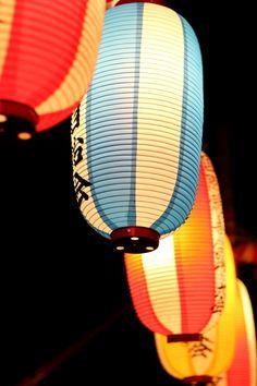 Lanterns at Bon Odori