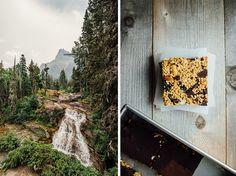 Montana Hiking Bar. Recipe and photos of Glacier National Park