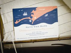 """X marks the spot! Treat guests to an illustrated map of your chosen destination. Already picked a color palette? Incorporate your wedding colors into the save the date design, or get creative with a symbol, logo or initialed monogram in place of the """"X""""."""