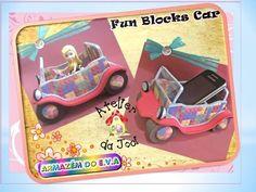 Fun Blocks Car - O carrinho de EVA - YouTube