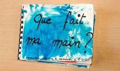 """Une nouvelle séquence de Maya, pour des TPS-PS, axée sur le langage oral et une production plastique. Intitulée """"Que fait ma main ?"""", elle a pour objectifs de travailler le lexique du geste, de constituer un répertoire de traces et de faire le lien, par la création d'un livre, entre les verbes d'action, les gestes et les traces obtenues."""