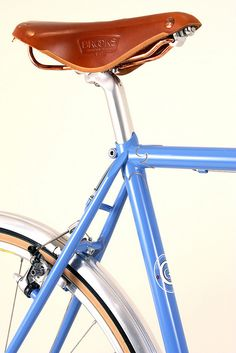Curt Goodrich -- Seattube and Brooks Saddle by Renaissance Bicycles, via Flickr
