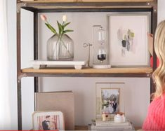 Sharrah Robeson - Bookcase accessorizing