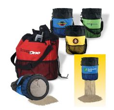Leave unwanted sand on the beach with this smart tote. Order Now: http://www.persnicketypromotions.com/:quicksearch.htm?quicksearchbox=PYSFG-ILAPL