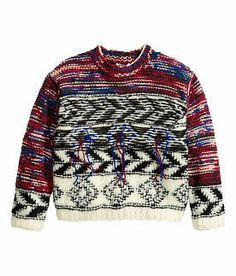 ISABEL MARANT for H&M CHUNKY JUMPER SIZE 10-12year   146/152 EUR   eBay