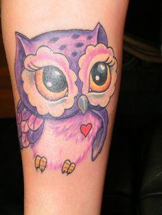 owl tattoo small - Pesquisa Google