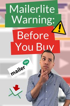 As great as Mailerlite is, there are some serious downsides to using it and for some businesses  it may actually be a terrible solution. This Mailerlite review covers the top 5 reasons you may not want to rely on them for your email marketing.  #mailerlitereview, #OnlineBusiness, #LeadGeneration, #Entrepreneur, #DigitalMarketing