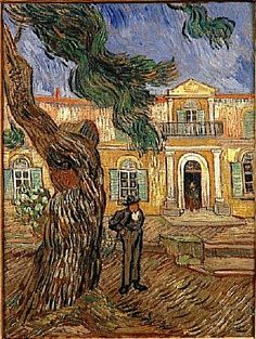 Hospital in Saint-Remy, 1840 - Vincent Van Gogh.  Professional Artist is the foremost business magazine for visual artists. Visit ProfessionalArtistMag.com.- www.professionalartistmag.com
