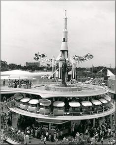 Old Disney Photo Tomorrowland