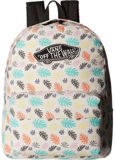 Designer Clothes, Shoes & Bags for Women Vans Backpack, White Backpack, Backpack Bags, Fashion Backpack, Beige Backpacks, Vans Bags, Rucksack Bag, Shoe Bag, Sport