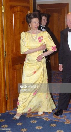 HRH Princess Anne during Sail For Gold Ball 2004 at Hilton Hotel in London, Great Britain. Get premium, high resolution news photos at Getty Images Royal Princess, Princess Diana, Royal Crown Jewels, Royal Uk, English Royal Family, Kate And Meghan, Royal Colors, Hm The Queen, Royals