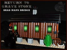 Grave Stone Dead Man's Bridge: A LEGO® creation by TheBrick Ster on MOCpages.com
