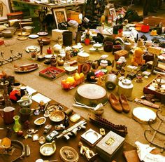 One of Rome's most loved flea markets - Porta Portese. Open Sundays, morning to early afternoon. At Via Portuense and Via Ippolito Nievo.