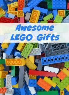 LEGO gift ideas - perfect for my holiday list!