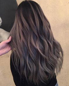 """6,857 Likes, 54 Comments - Hair Color Balayage ⚔ Cuts (@imallaboutdahair) on Instagram: """"Smoky Amethyst @playwithscissors @efoxxhair"""""""
