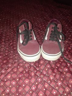 new styles ccc0d 6954a Van s Classic Burgandy Shoes Size 7.5 Men s Or Size 9 Women s  fashion   clothing  shoes  accessories  unisexclothingshoesaccs  unisexadultshoes  (ebay link)