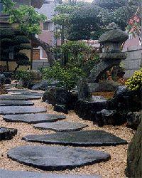 stone pathway - Japanese style