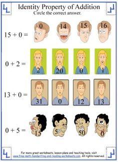 math worksheet : commutative property properties of addition and addition  : Associative Property Of Addition Worksheets First Grade