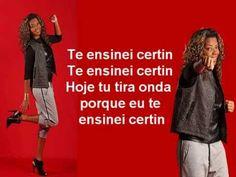Mc Ludmilla Te Ensinei Certin Letra(sem a musica para não ficar com dire...