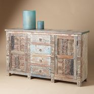 "Woodblock cabinet from Sundance - Adore ""Sundance""...everything so natural and beautiful - Robert Redford isn't too bad either!"