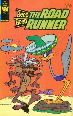 Beep Beep The Road Runner Whitman) 92 Cartoon Posters, Retro Cartoons, Classic Cartoons, Cartoon Art, Vintage Disney Posters, Poster Vintage, Vintage Cartoon, Retro Vintage, Looney Tunes Characters