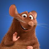 *EMILE ~ is a brown (probably like his mother's fur color), overweight rat, and is slightly larger than his younger brother. Ratatouille Film, Ratatouille Disney, Ratatouille Characters, Ratatouille Recipe, Iconic Characters, Cartoon Characters, Disney Canvas Art, Penguin, Cartoon Wallpaper