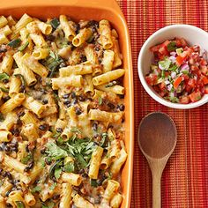 Mexican Rigatoni and Cheese From Better Homes and Gardens, ideas and improvement projects for your home and garden plus recipes and entertaining ideas.