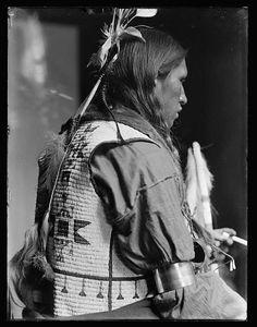 Bad Bear, American Native. Gertrude Kasebier Photography [ca. 1900]