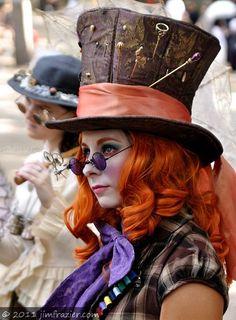 Mad Hatter / Alice in Wonderland Steampunk Cosplay, Steampunk Mode, Style Steampunk, Steampunk Clothing, Steampunk Fashion, Victorian Fashion, Halloween Karneval, Halloween Kostüm, Halloween Costumes