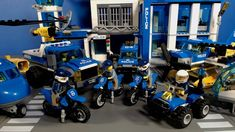 All the LEGO Mountain Police Cars, bikes, Boats, Jeeps and more! Off-Road Chase Mountain Fugitives Dirt Road Pursuit Mountain Arr. Lego Mountain, Lego Police, Police Dogs, Lego City, Baby Birthday, Police Vehicles, Readers Workshop, Perler Beads, Prison